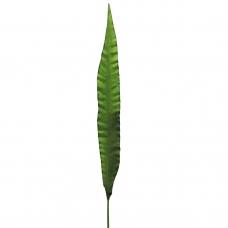 Лист искусственный зеленый 81 см