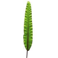 Лист искусственный зеленый 96 см