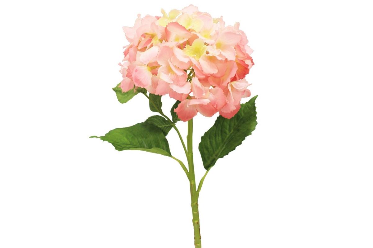 Гортензия искусственная ярко-розовая 34 см