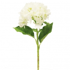 Гортензия искусственная белая 54 см