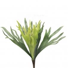 Папоротник Олений рог искусственный серо-зеленый 28 см