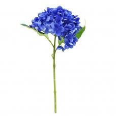 Гортензия искусственная синяя 35 см