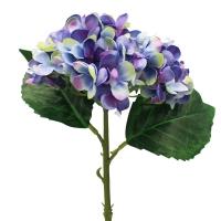 Гортензия искусственная фиолетовая 35 см