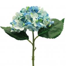 Гортензия искусственная голубая 35 см