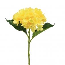 Гортензия искусственная желтая 47 см