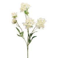 Хризантема Японская искусственная белая 69 см