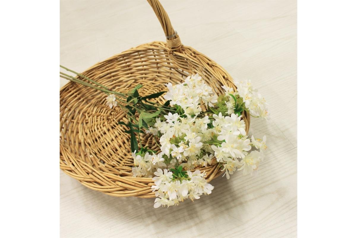 Хризантема Японская искусственная белая 69 см - Фото 2