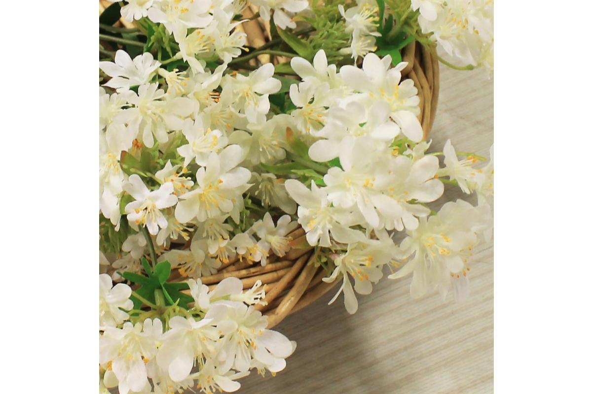 Хризантема Японская искусственная белая 69 см - Фото 3