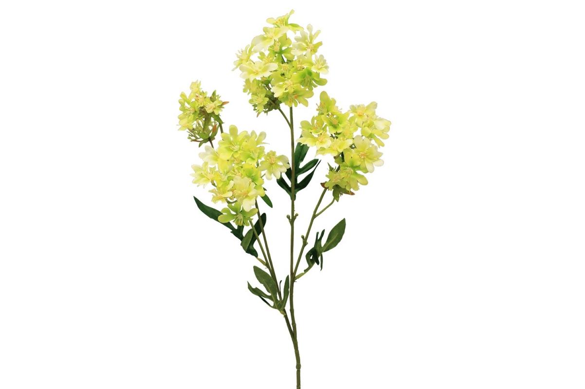 Хризантема Японская искусственная зеленая 69 см