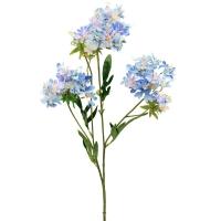 Хризантема Японская искусственная голубая 69 см