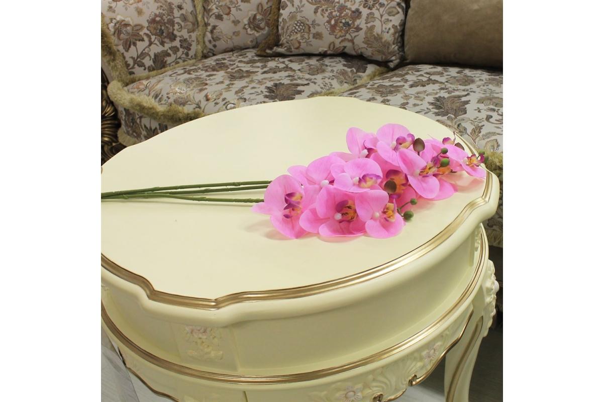 Орхидея Фаленопсис искусственная светло-розовая 65 см (real touch) - Фото 2