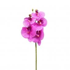 Орхидея Фаленопсис искусственная фиолетовая 65 см (real touch)