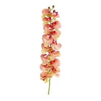 Орхидея Фаленопсис искусственная розово-зеленая 100 см (real touch)