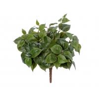 Тини Филодендрон куст искусственный зеленый 30 см MDP