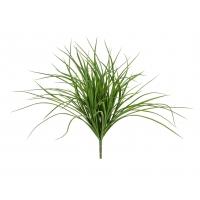 Трава Грасс Лонг куст искусственная зеленая 37 см