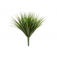 Трава Литл Сворд куст искусственный зеленый 20 см