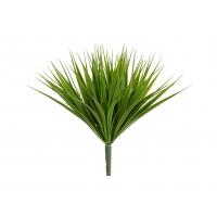 Трава Литл Сворд куст искусственный зеленый микс 20 см