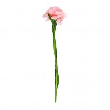 Гвоздика искусственная розовая 60 см