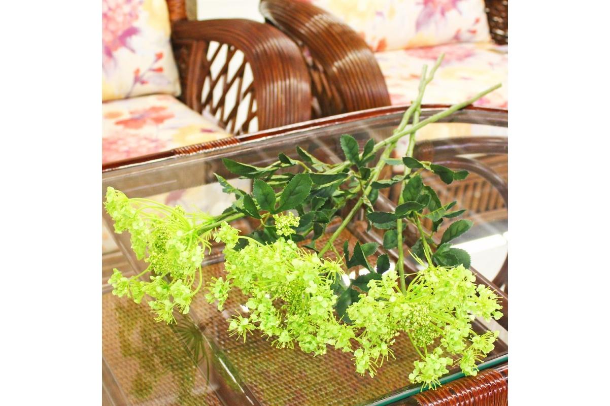 Амми цветущий искусственный зеленый 78 см - Фото 2