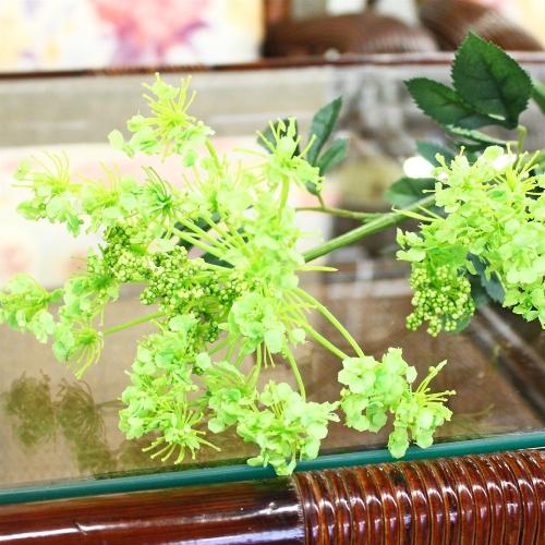 Амми цветущий искусственный зеленый 78 см - Фото 3