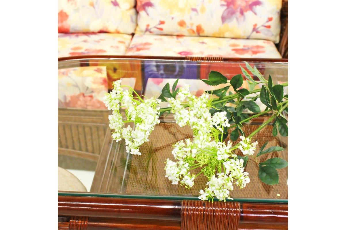 Амми цветущий искусственный белый 75 см - Фото 2