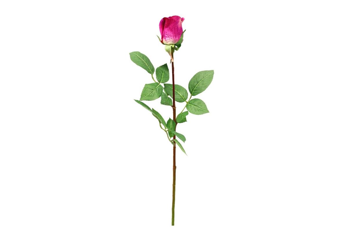 Роза Анастасия искусственная розовая 75 см