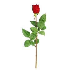 Роза Анастасия искусственная красная 75 см