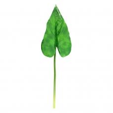 Антуриум лист искусственный зеленый 63 см