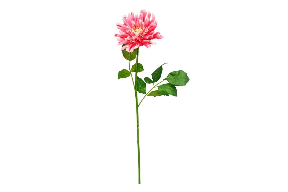 Георгин искусственный розовый 78 см