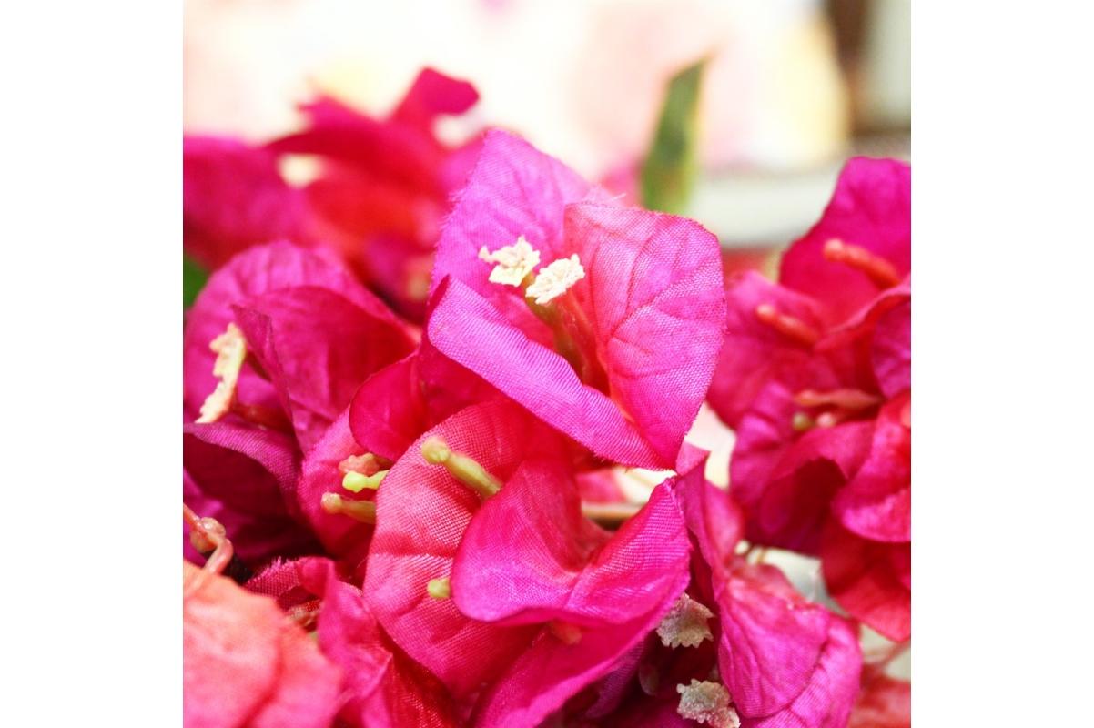 Бугенвиллия искусственная розовая 72 см - Фото 2