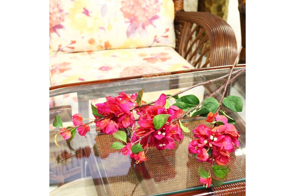 Бугенвиллия искусственная розовая 72 см - Фото 3