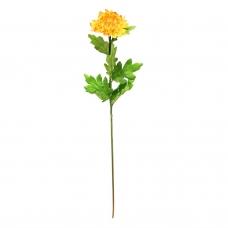Хризантема искусственная оранжевая 70 см