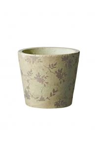 Кашпо deroma tea vaso 15 beige d15 h13 см