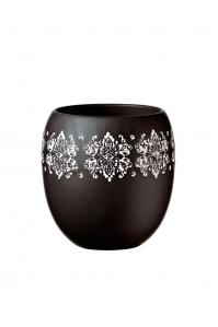 Кашпо deroma gipsy vaso 15 black d15 h16 см