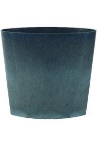 Кашпо artstone indoor josh planter sapphire l32 w14 h30 см