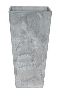Кашпо artstone ella vase grey l35 w35 h70 см