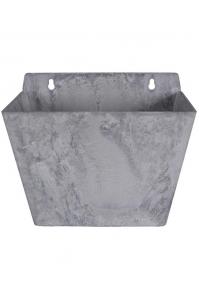 Кашпо настенное artstone ella wall hanger grey l22 w15 h18 см