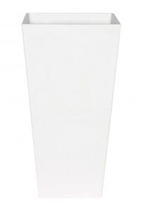 Кашпо artstone ella vase white l40 w40 h90 см