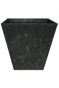 Кашпо artstone ella pot black l35 w35 h34 см