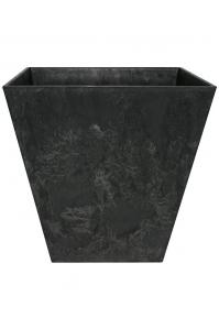 Кашпо artstone ella pot black l45 w45 h45 см