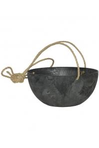 Кашпо подвесное artstone fiona hanger black d31 h15 см