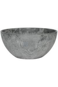 Кашпо artstone fiona bowl grey d25 h12 см