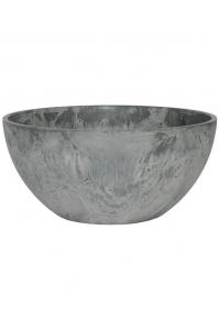Кашпо artstone fiona bowl grey d31 h15 см