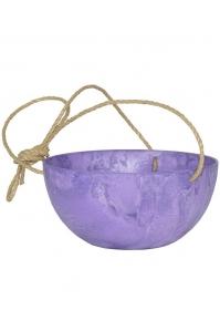 Кашпо подвесное artstone fiona hanger grape d25 h12 см