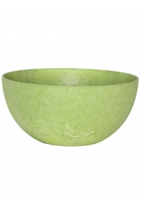 Кашпо artstone fiona bowl lime d25 h12 см