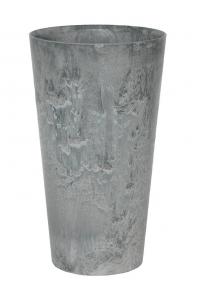 Кашпо artstone claire vase grey d14 h26 см