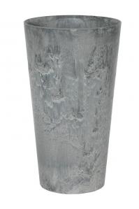 Кашпо artstone claire vase grey d19 h35 см