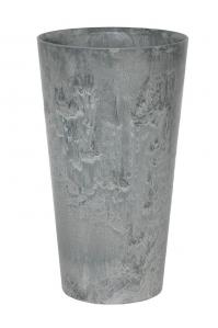 Кашпо artstone claire vase grey d28 h49 см