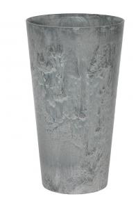 Кашпо artstone claire vase grey d42 h90 см
