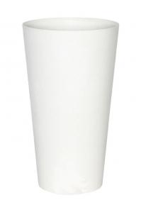Кашпо artstone claire vase white d14 h26 см
